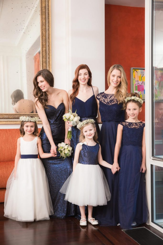 Bari Jay Sequin Bridesmaid and Flower Girl
