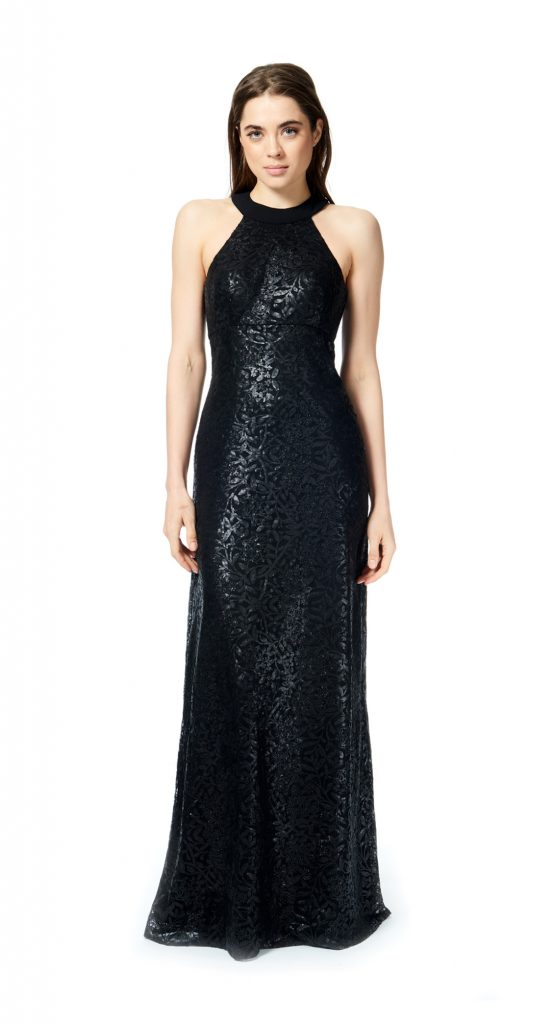 Bari Jay Sequin Bridesmaid Dress Style 1876
