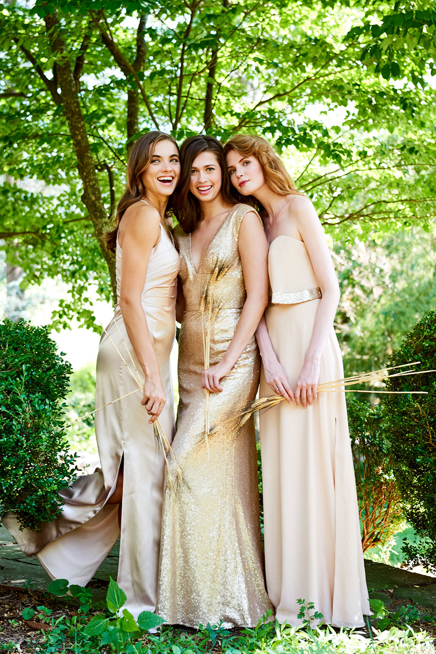 Bridesmaids Outside