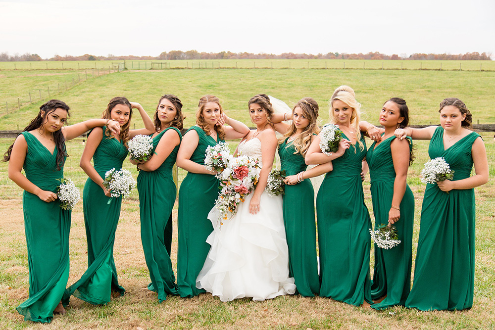 Courtney Bridal Party