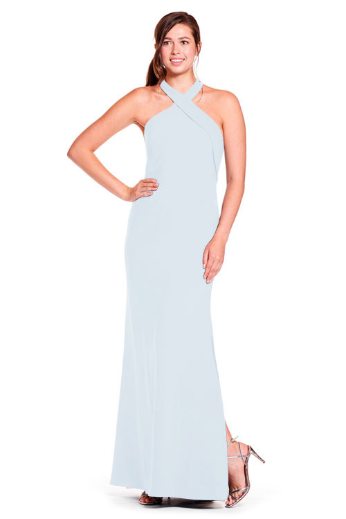 Bari Jay Bridesmaid Dress Style 1903 in Silverfrost
