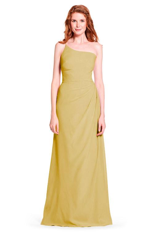 Bari Jay Bridesmaid Dress Style 1912 In Mustard