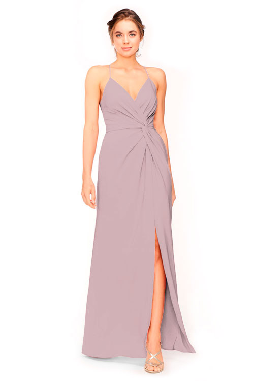 Bari Jay Bridesmaid Dress Style 1951 in Thistle