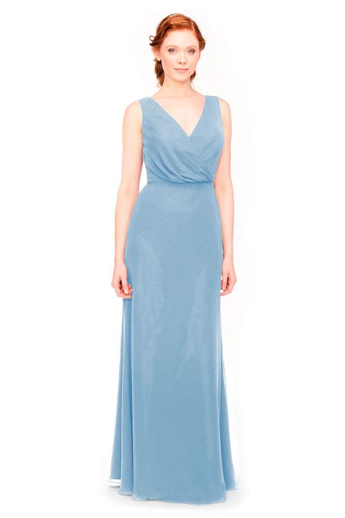 Bari Jay Bridesmaid Dress Style 1970 In Slate