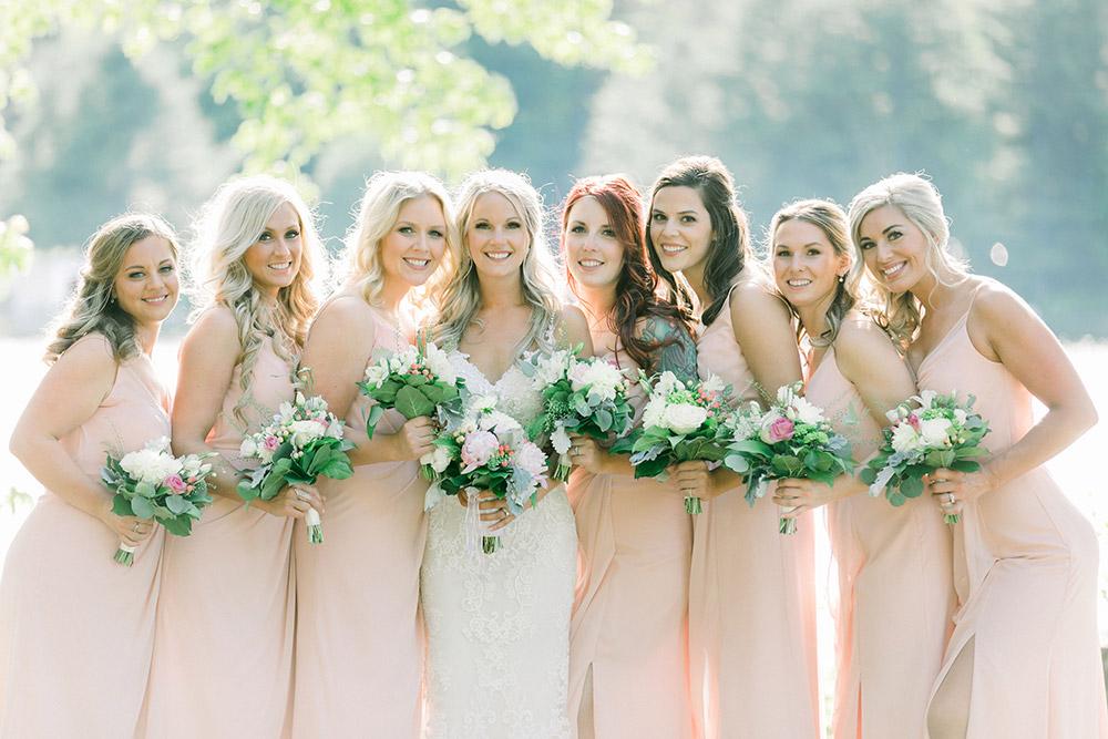 Bari Jay Bridesmaids And Bride