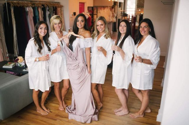 Sammi Bella Bari Jay Bridesmaids Luxe Collection